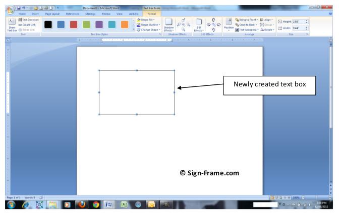 Frame Inserts Step 2