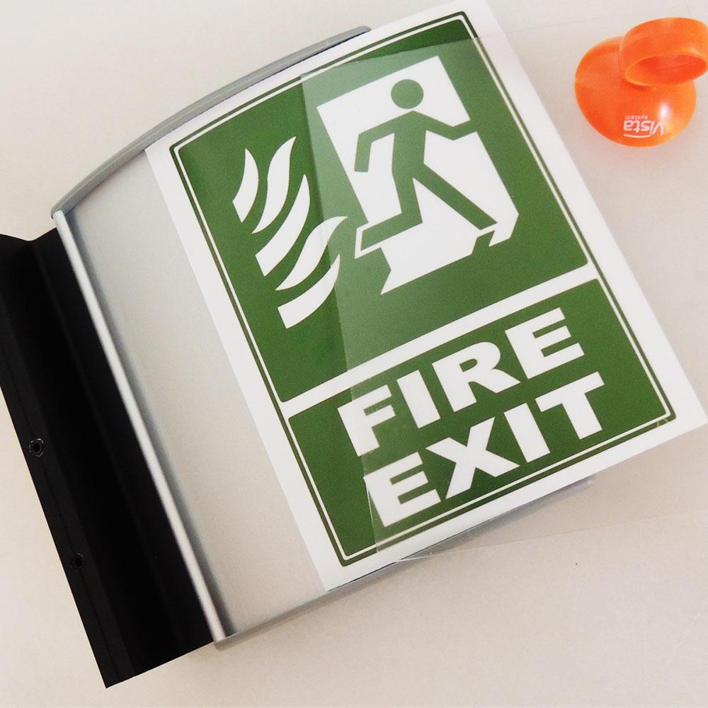"Hallway Sign - 12""H x 12""W - FS13"
