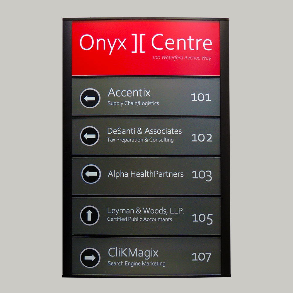"""Directory Sign - 9""""H x 11""""W - DN38"""