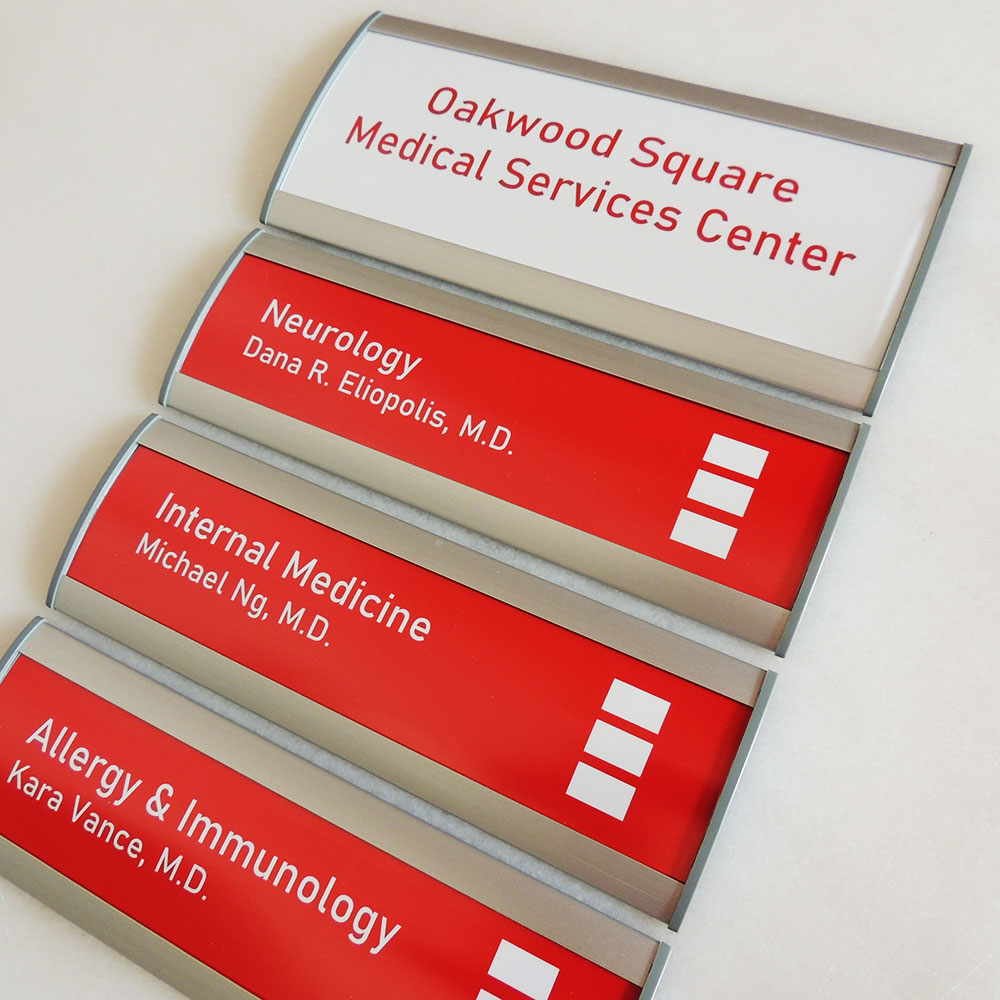 "Directory Sign - 15.75""H x 12""W - DN23"