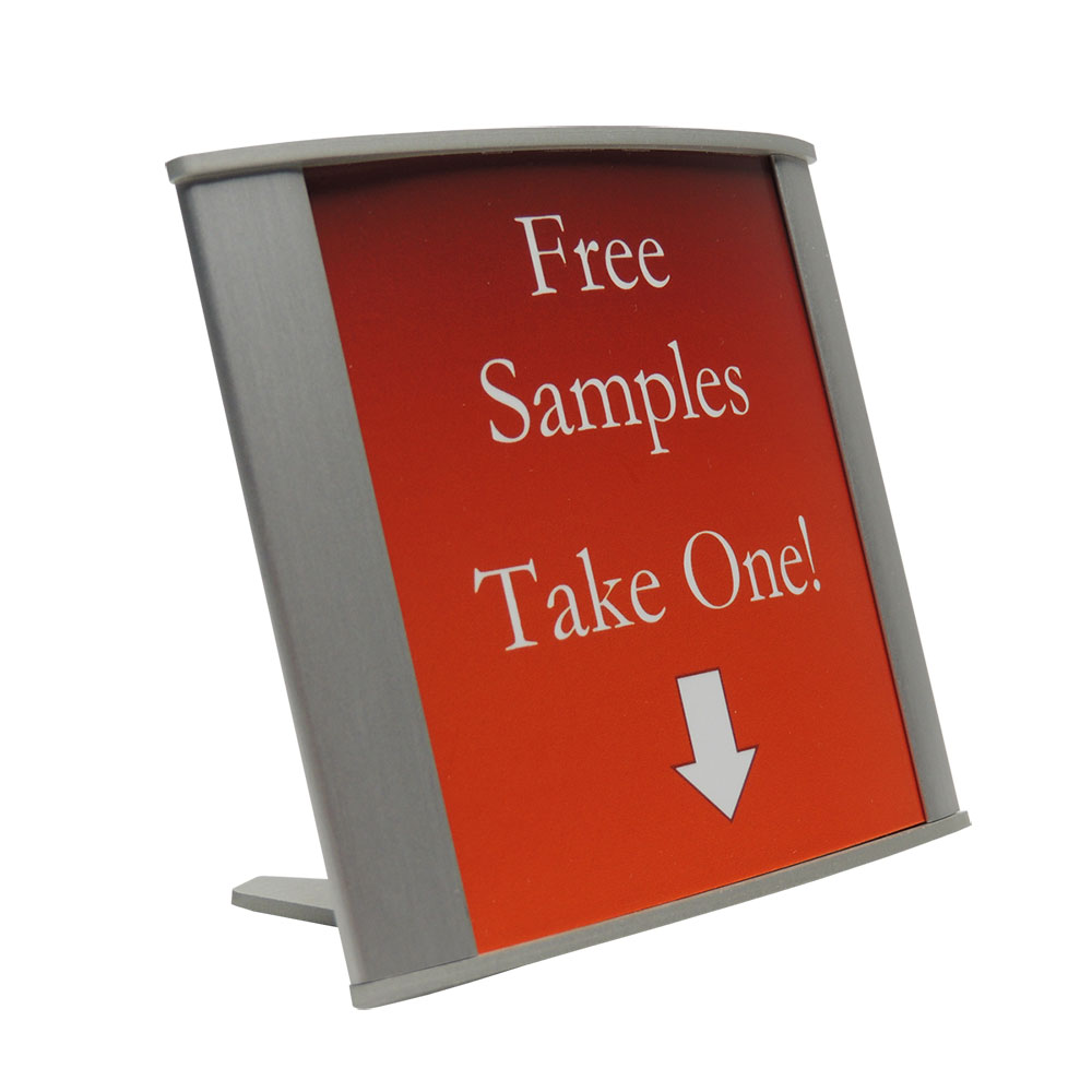 "Table Sign - 4""H x 3.75""W - TN4"