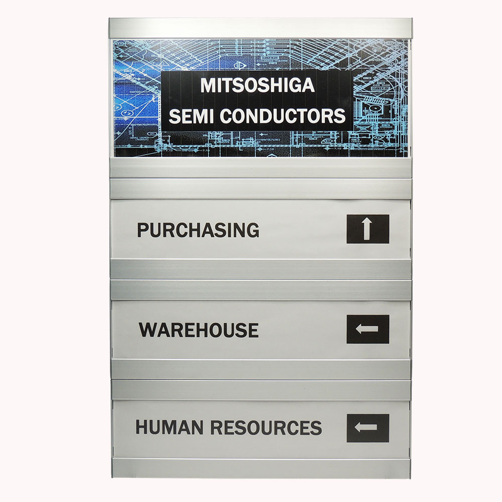 """Directory Sign - 26.5""""H x 14""""W - DF26"""