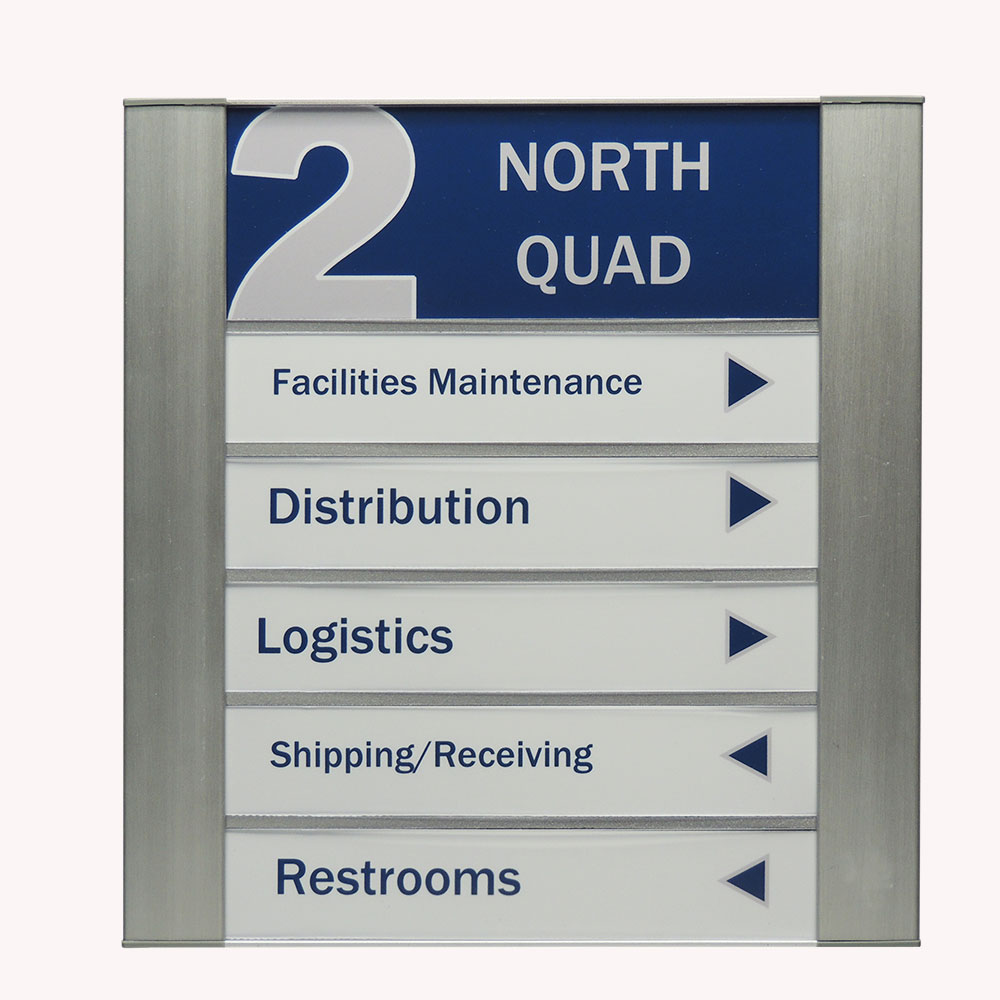 """Directory Sign - 9.5""""H x 12.25""""W - DF38"""