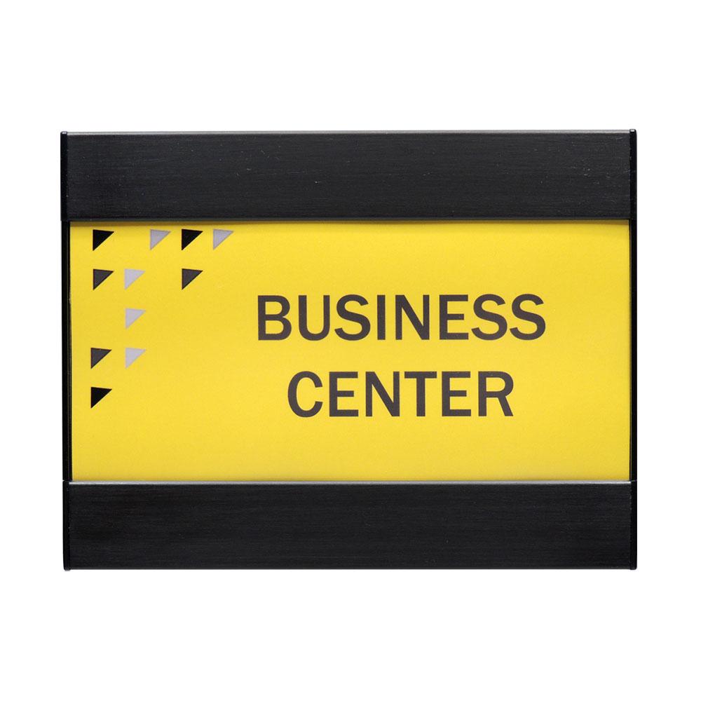 Square Landscape Office Sign - G360
