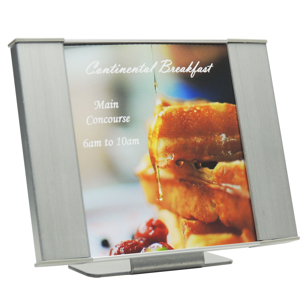 "Table Sign - 4""H x 5.5""W - TF5"
