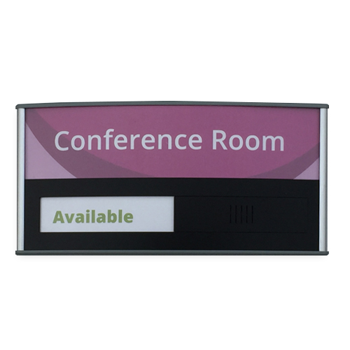 "Conference Room & Slider Sign - 4""H x 8.5""W - VLTRX4"