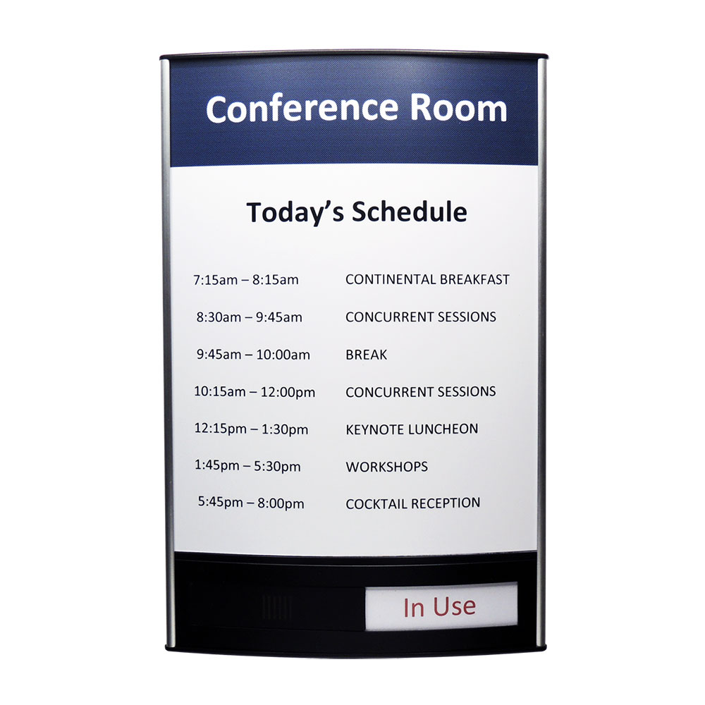 "Conference Room & Slider Sign - 13""H x 8.5""W - VLTRX13"
