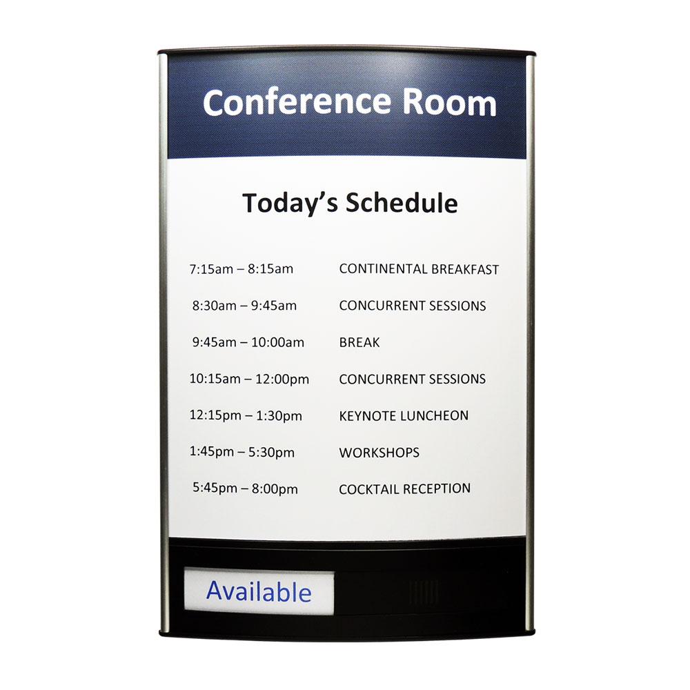 """Conference Room & Slider Sign - 13""""H x 8.5""""W - VLTRX13"""