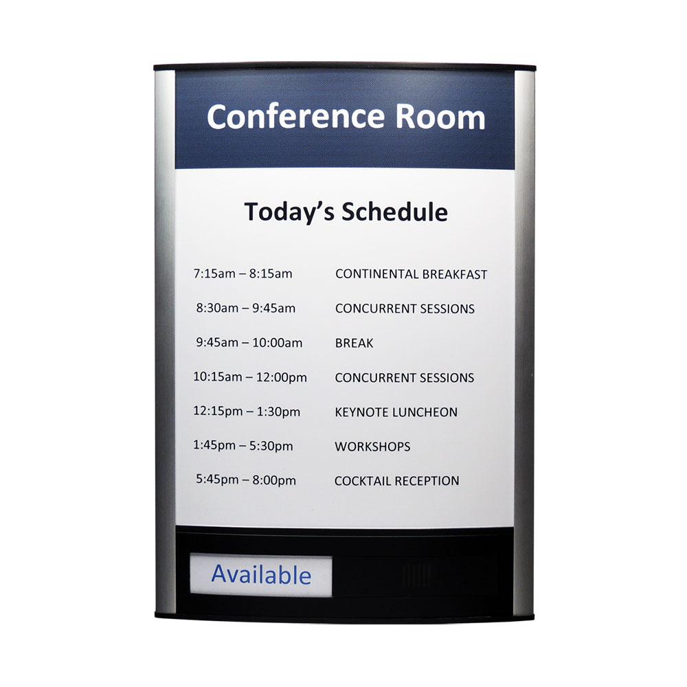 """Conference Room & Slider Sign - 13""""H x 9.25""""W - VNLTRX13"""