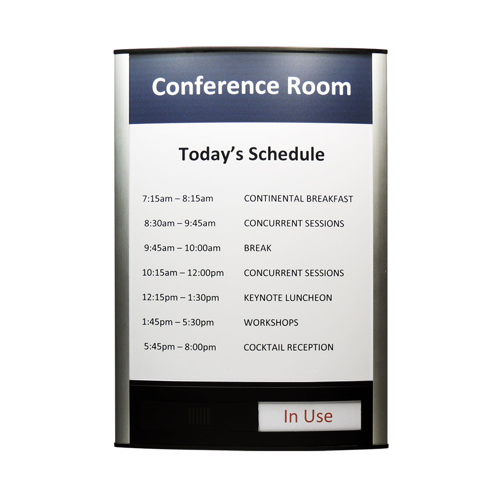 "Conference Room & Slider Sign - 13""H x 9.25""W - VNLTRX13"