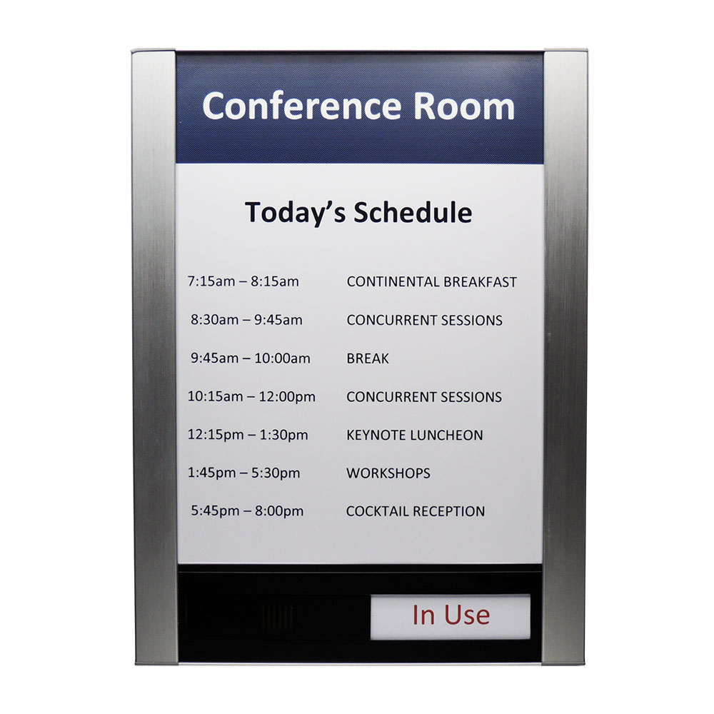 "Conference Room & Slider Sign - 13""H x 10""W - FLTRX13"