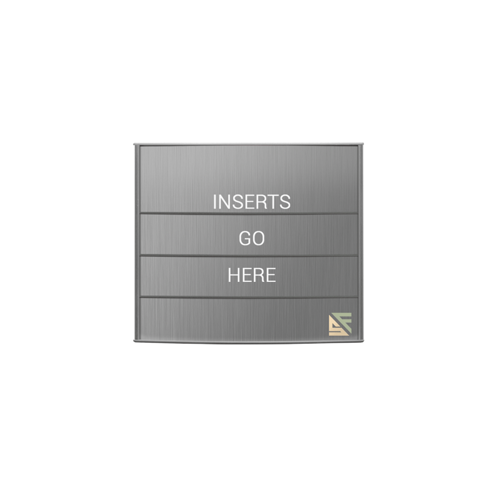 "Directory Sign - 9.25""H x 12""W - D1"