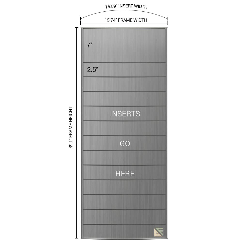 "Directory Sign - 38.5""H x 16""W - D10"