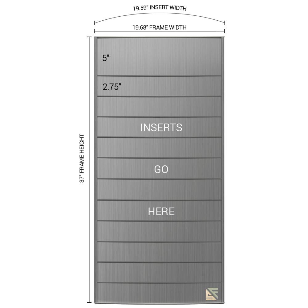 "Directory Sign - 36.5""H x 20""W - D15"