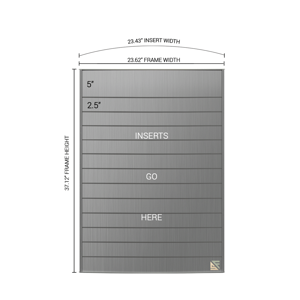 "Directory Sign - 36.5""H x 23.5""W - D19"
