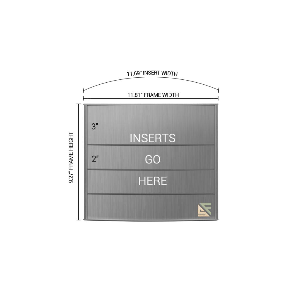 "Directory Sign - 9.25""H x 12""W - D1"