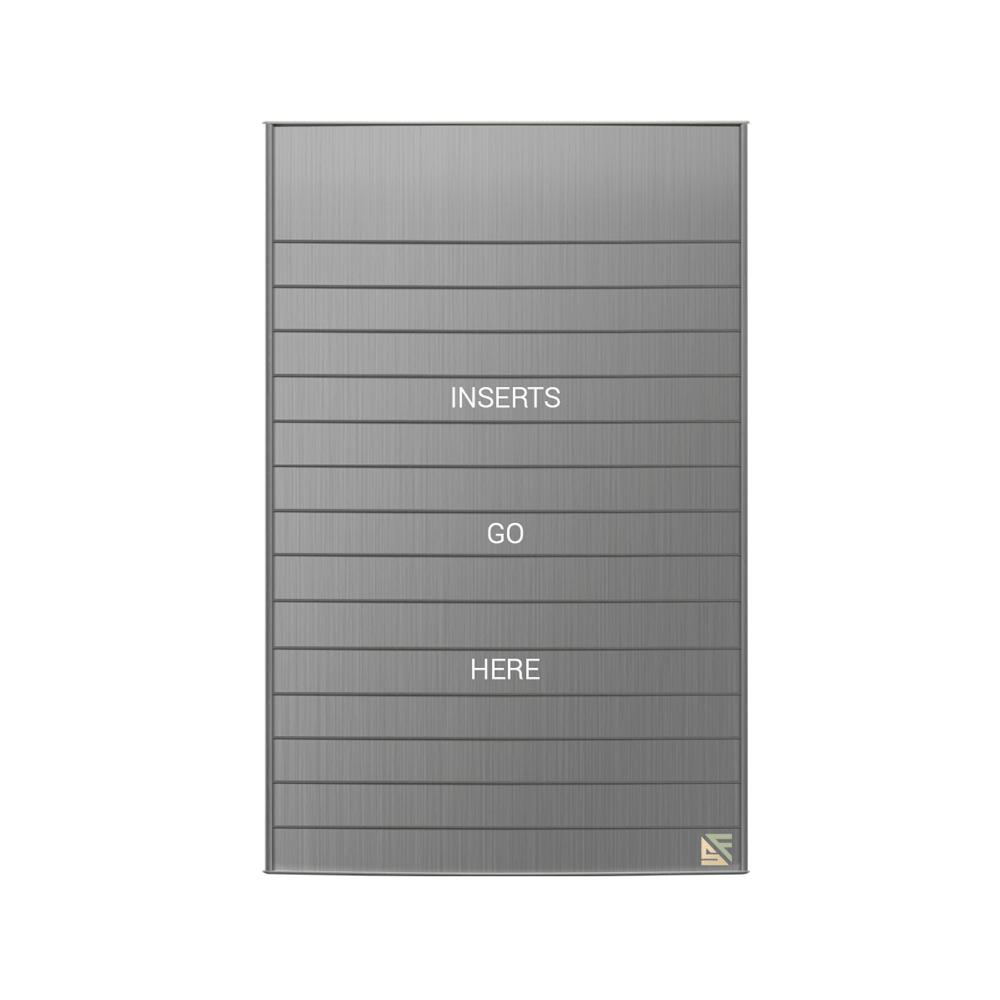 "Directory Sign - 39.25""H x 23.5""W - D20"