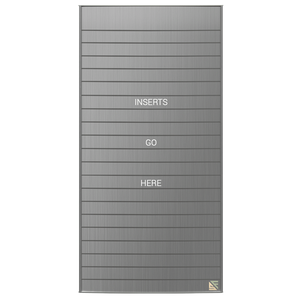 "Directory Sign - 47.25""H x 23.5""W - D22"