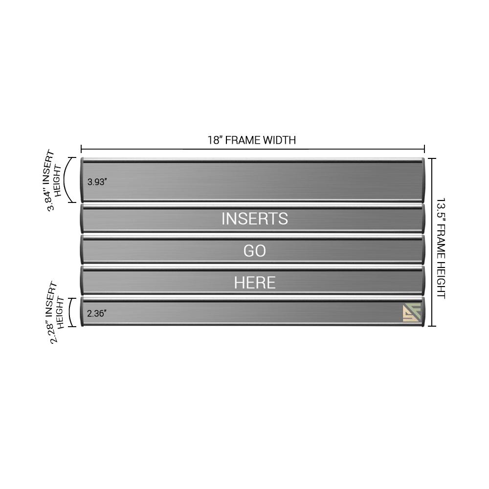 "Directory Sign - 13.5""H x 18""W - D24"