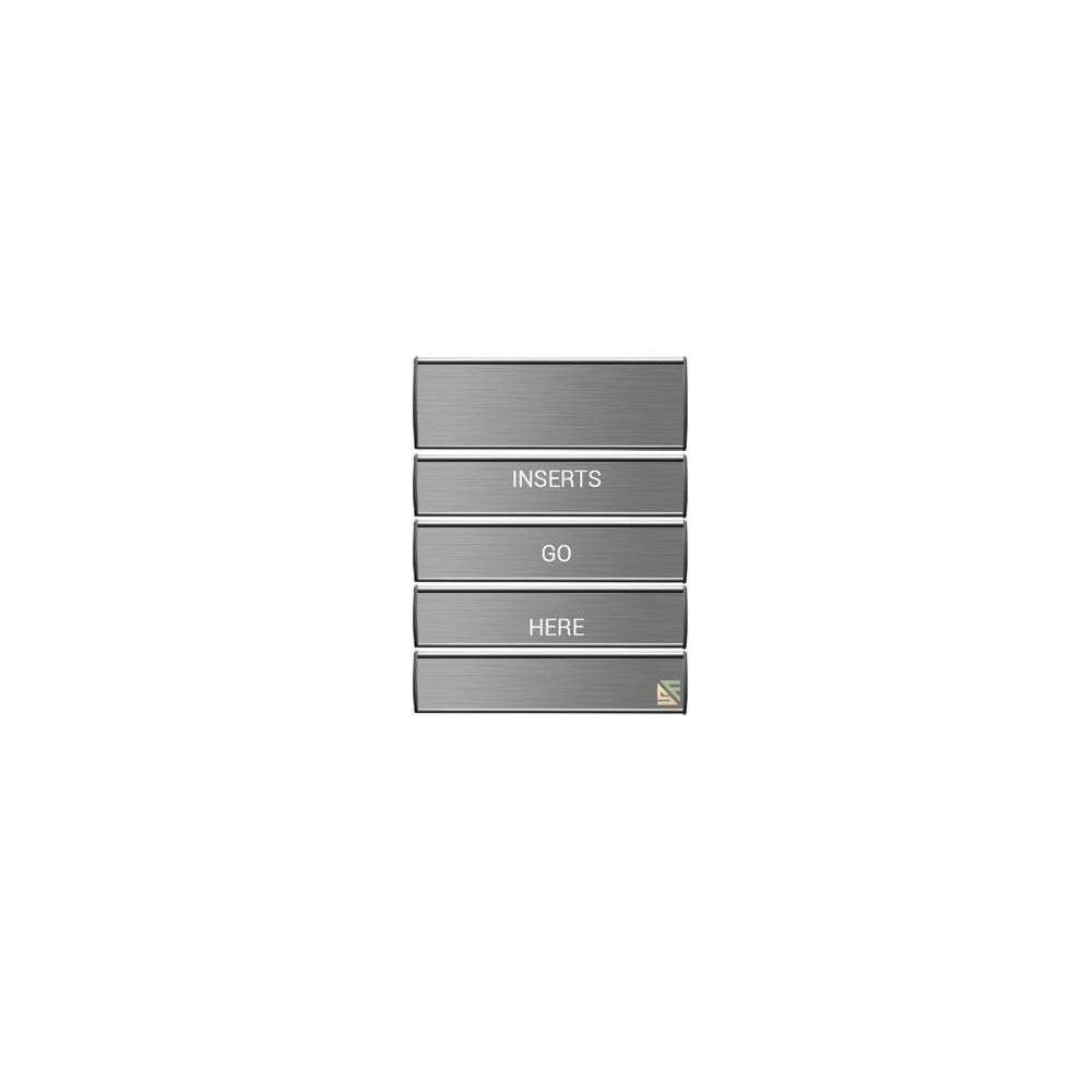 "Directory Sign - 21""H x 20""W - D27"