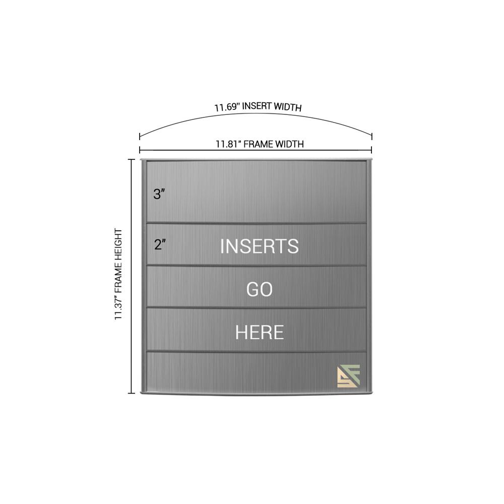 "Directory Sign - 11.5""H x 12""W - D2"