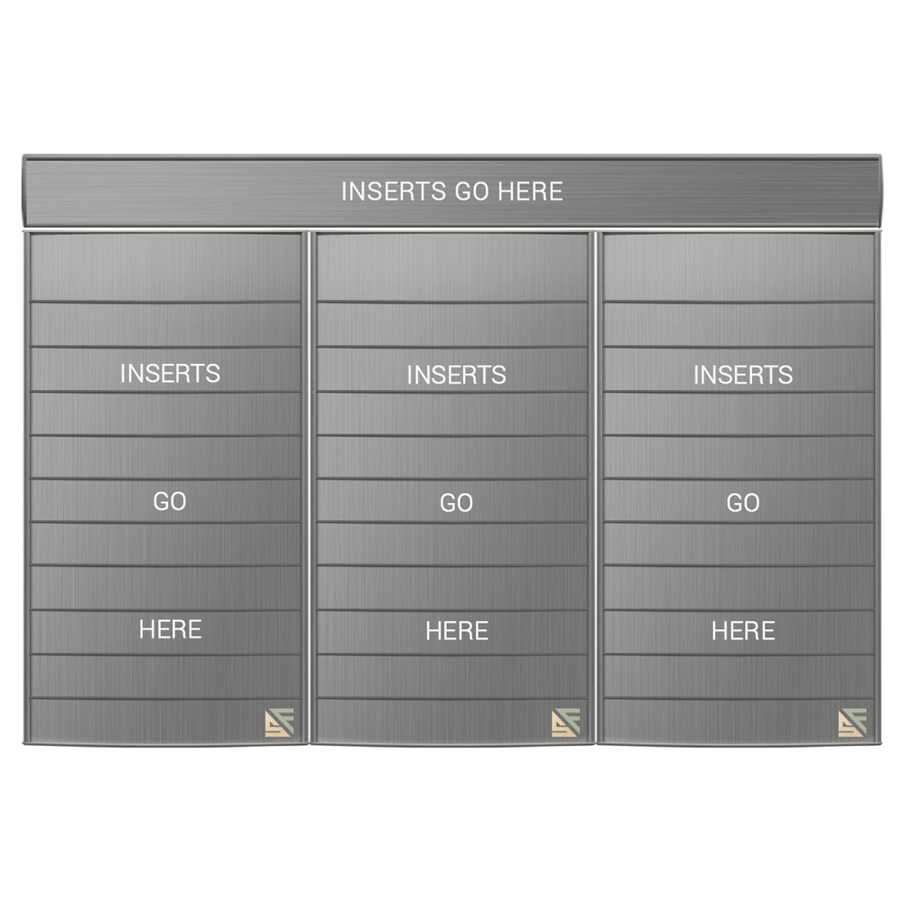 "Directory Sign - 27.5""H x 35.5""W - D34"