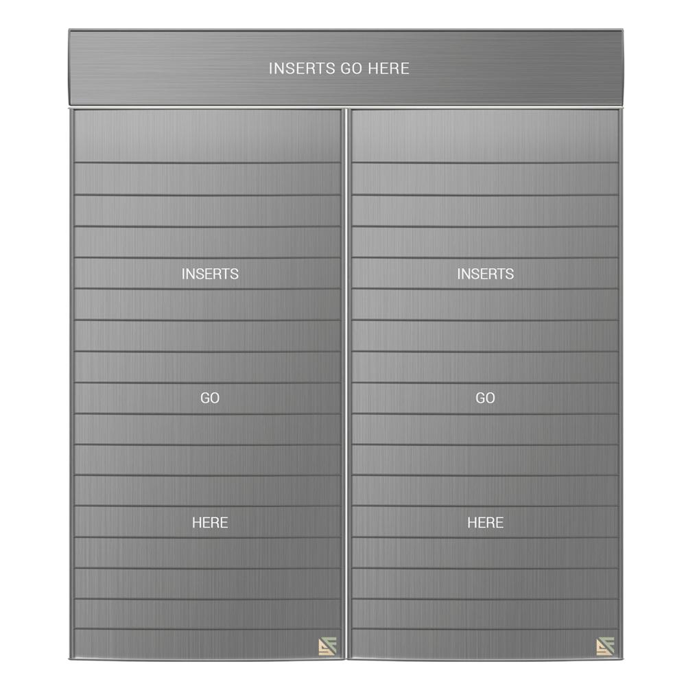 "Directory Sign - 63""H x 47.5""W - D37"
