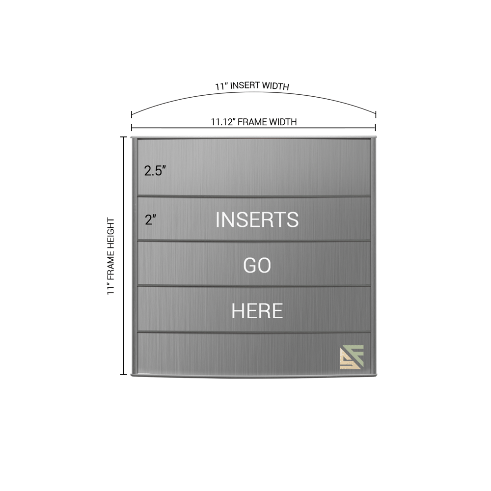 "Directory Sign - 11""H x 11""W - D39"