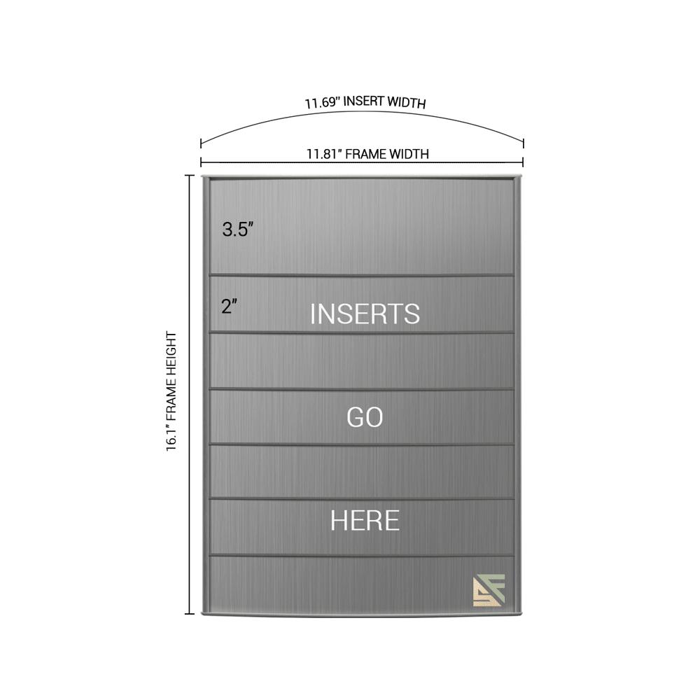 "Directory Sign - 16.25""H x 12""W - D3"
