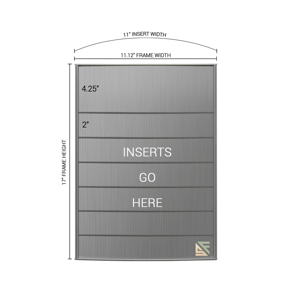 "Directory Sign - 17""H x 11""W - D41"