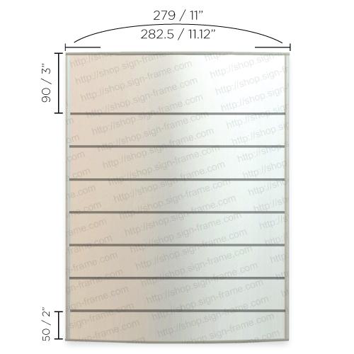 "Directory Sign - 22""H x 11""W - D42"