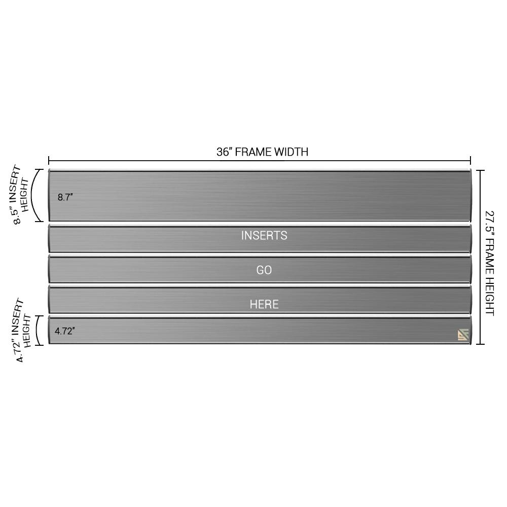 "Directory Sign - 27.5""H x 36""W - D48"