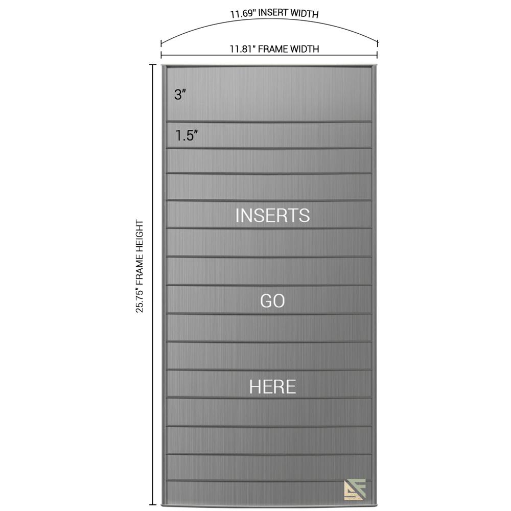"Directory Sign - 25.75""H x 12""W - D5"