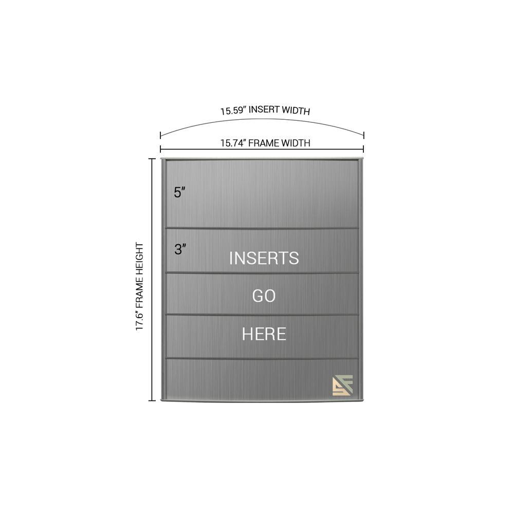 "Directory Sign - 17.5""H x 16""W - D6"