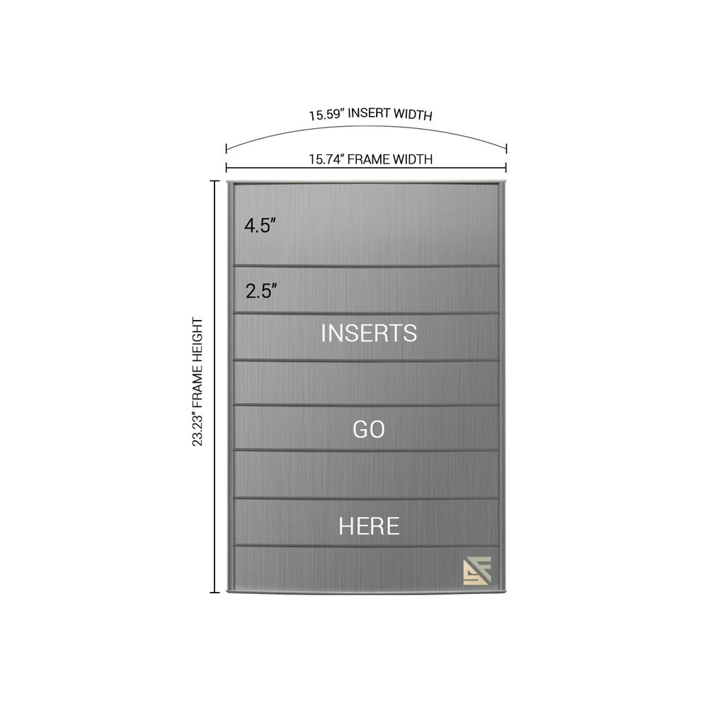 "Directory Sign - 22.75""H x 16""W - D8"