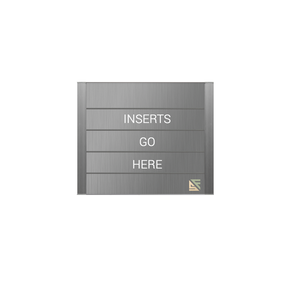 """Directory Sign - 12.5""""H x 13""""W - DF2"""