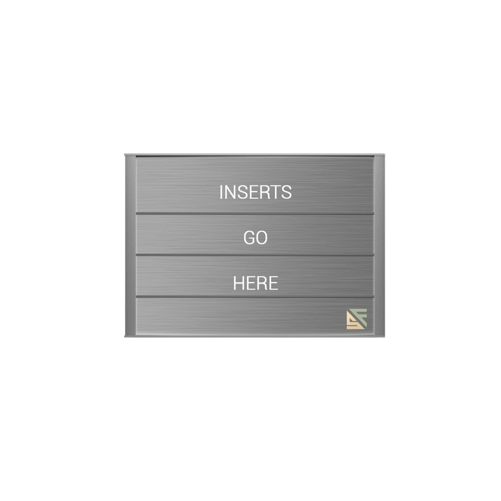 """Directory Sign - 9""""H x 12.5""""W - DN1"""