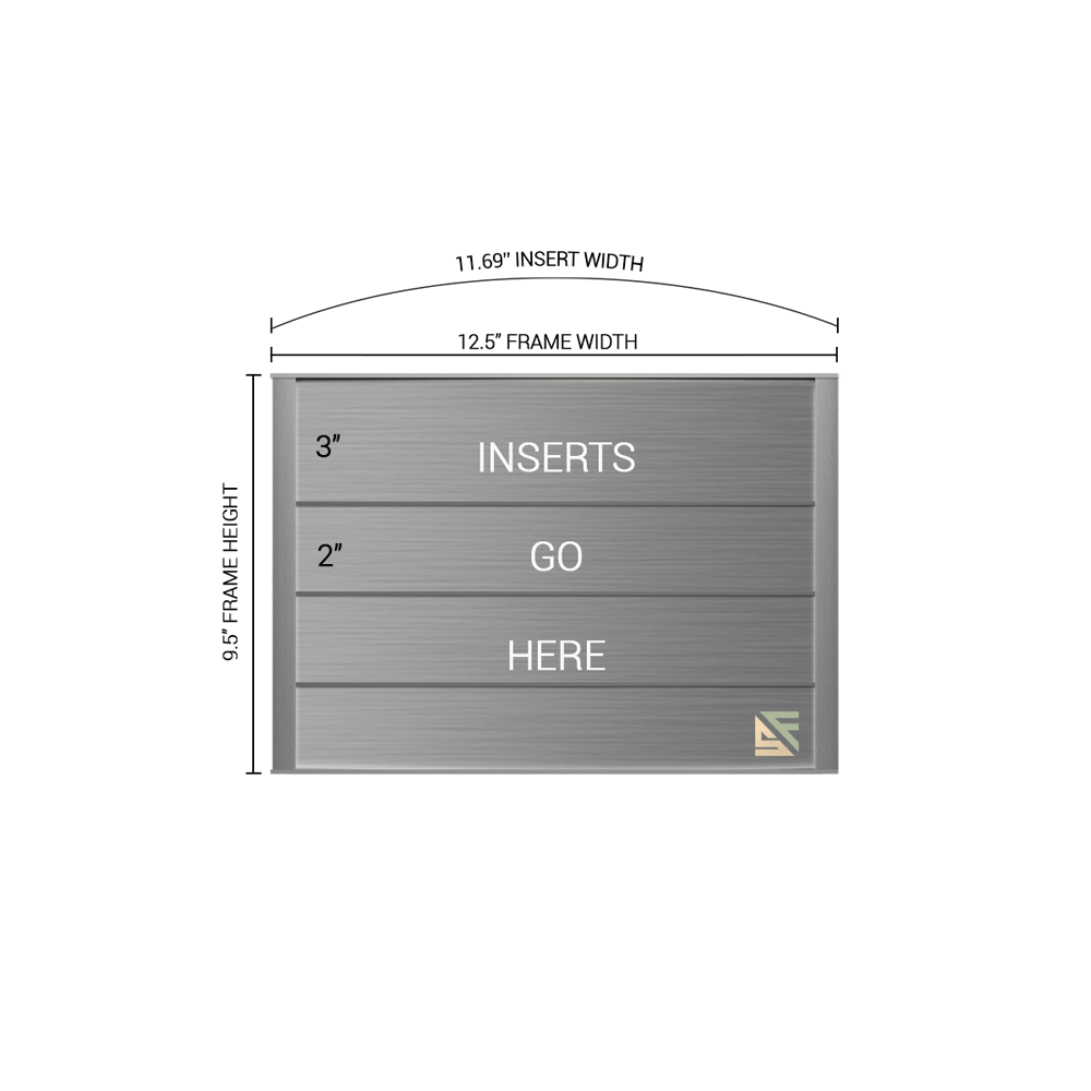"""Directory Sign - 9.5""""H x 12.5""""W - DN1"""