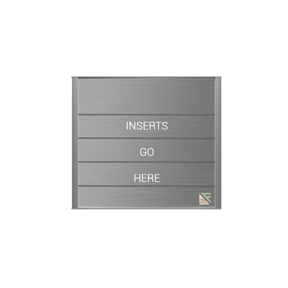 """Directory Sign - 11""""H x 12.5""""W - DN2"""