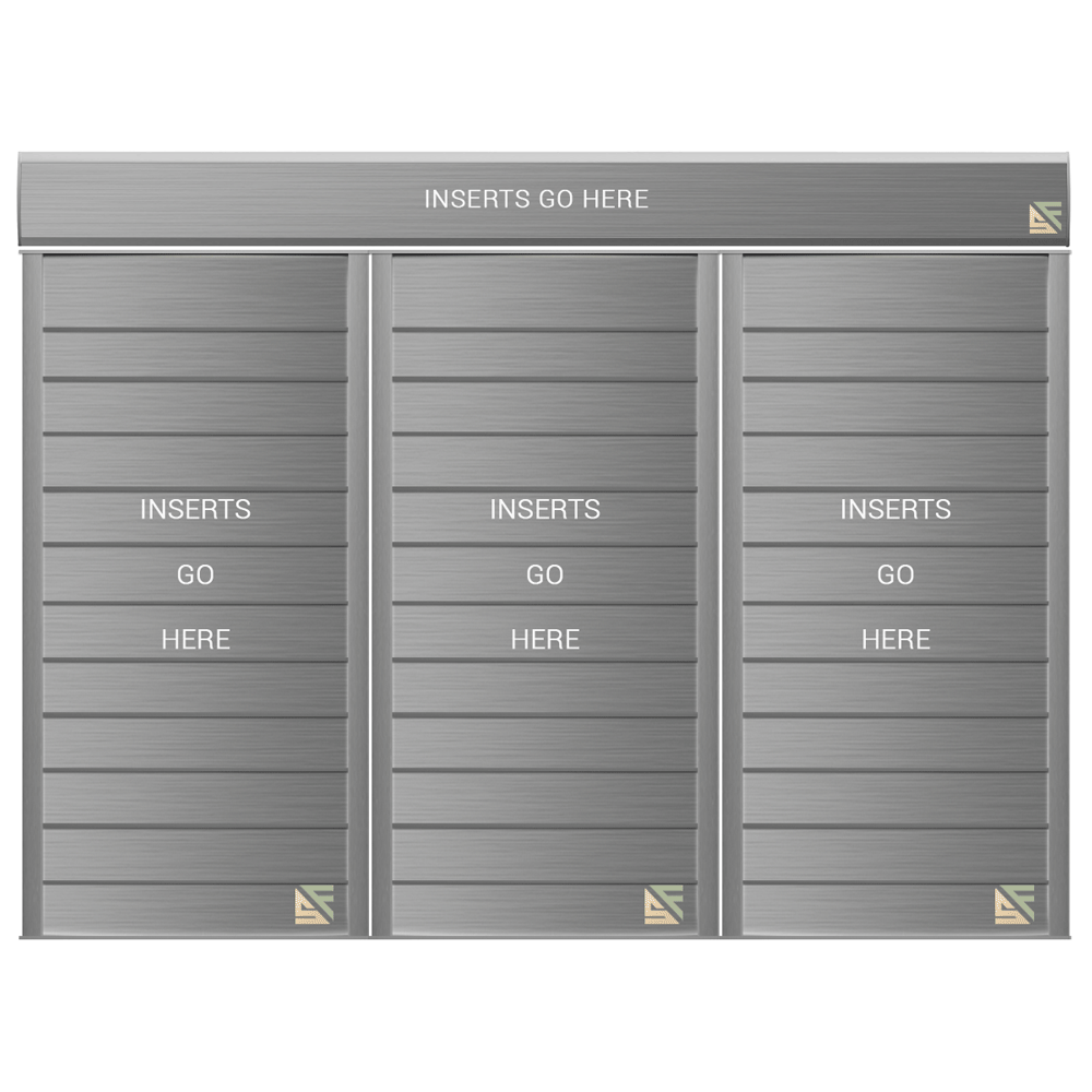"""Directory Sign - 26.75""""H x 28""""W - DN33"""