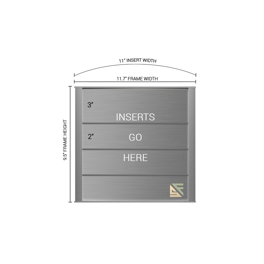 "Directory Sign - 9.5""H x 11""W - DN38"