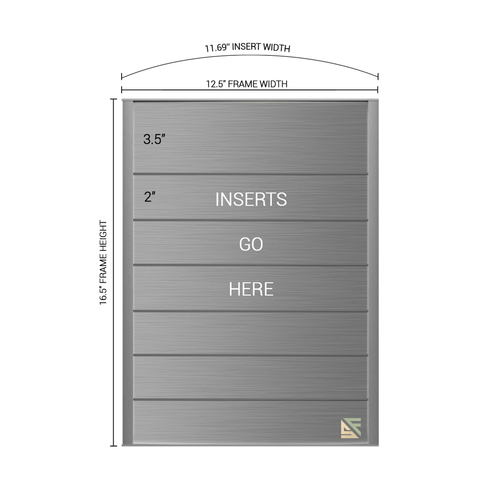 """Directory Sign - 16.5""""H x 12.5""""W - DN3"""