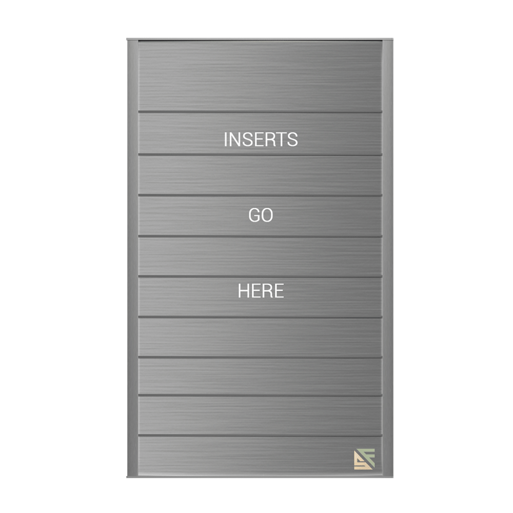 """Directory Sign - 21.5""""H x 12.5""""W - DN4"""