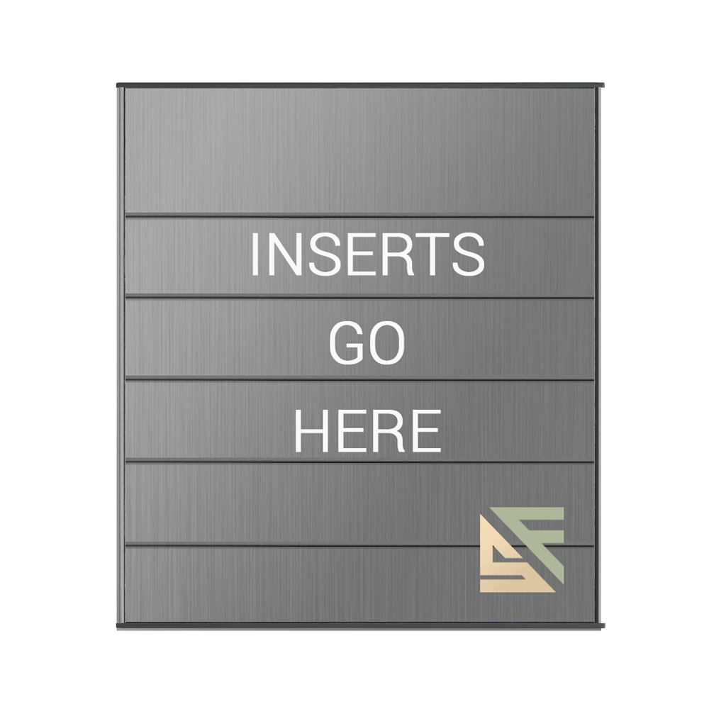 """Directory Sign - 14""""H x 11.75""""W - DS2E7"""