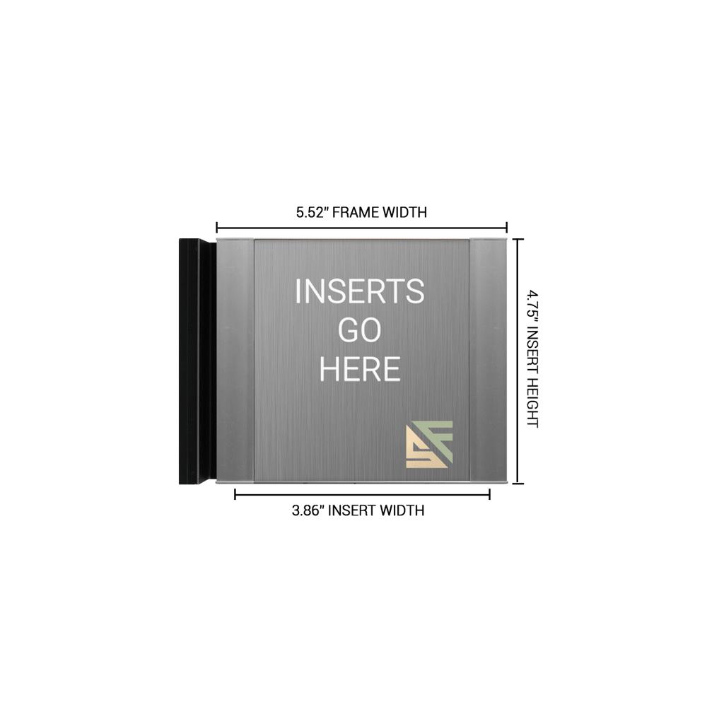 "Hallway Sign - 4.75""H x 5.5""W - FSF1"