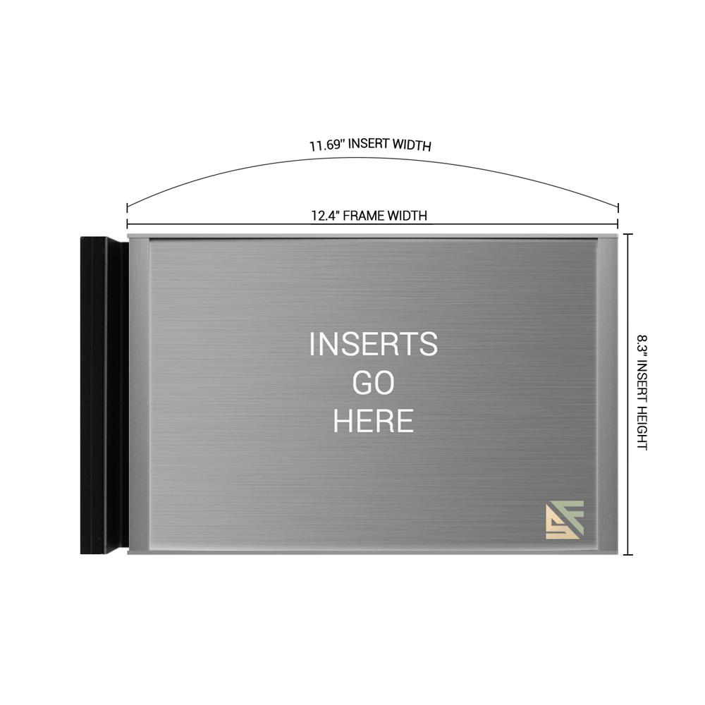 "Hallway Sign - 8.25""H x 12.5""W - FSN15"