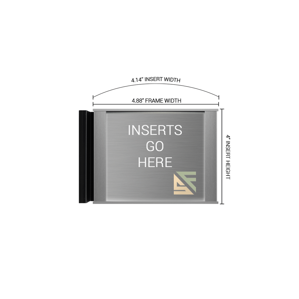"Hallway Sign - 4""H x 5""W - FSN1"