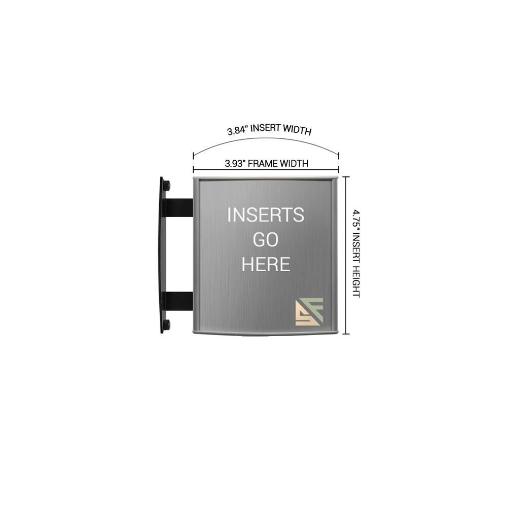 """Hallway Sign - 4.75""""H x 4""""W - WBS1"""