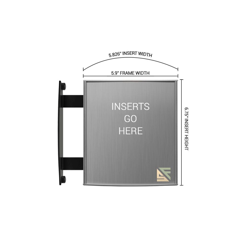 """Hallway Sign - 6.75""""H x 6""""W - WBS4"""