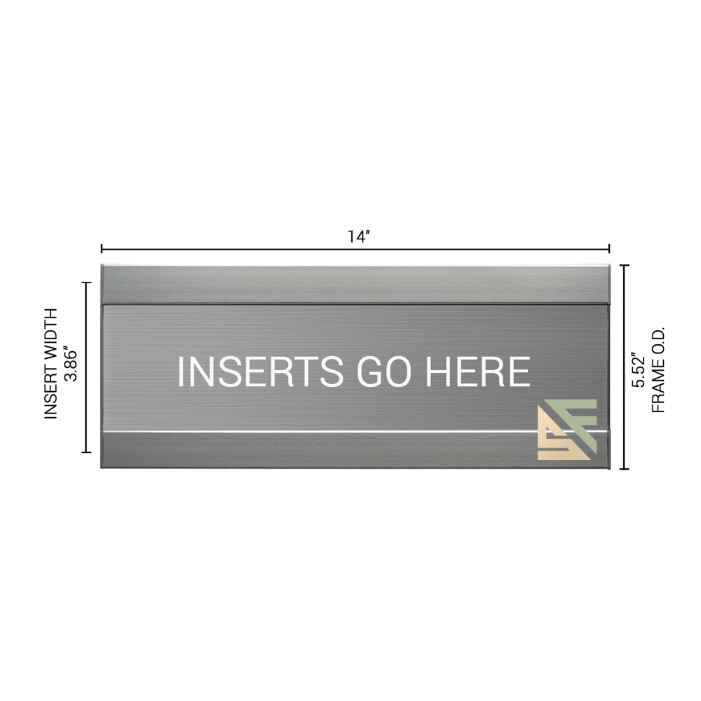 """Office Sign - 5.5""""H x 14""""W - WFFL20"""